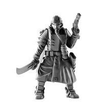 lieutenant death squad imperial force store 40k army board games guard human red soldier warhammer death imperial cult tabletop 28mm makers command wh40k 40000 grimdark krieg korps dkok grimdrk