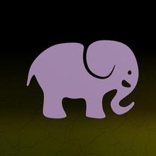 elephant animal decoration elephant sticker