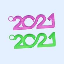 earrings '2021' pendant xmas earrings newyear earring holidays drinks 2020 celebrate idealab happy-newyear goodyear 2021 2021-earrings earring-2021