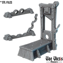 ghigliottina + piedi scorte buio fantasia piedi rpg tavolo tortura dnd ghigliottina prigione prigioniero scorte inquisizione