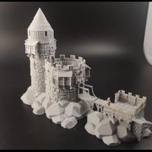 stronghold dungeon Tienda medieval torre castillo calabozo bastión fortaleza