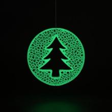 Navidad pelota árbol voronoi Navidad pelota árbol voronoi