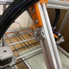 compactar fecho eclair cabo gravata quadrado montagem suporte 2020 alumínio extrusão quadrado 3dprinter fio 2020 cnc compactar extrusão cabletie ziptie gerenciamento fios alumínio m5 tnut roteador CNC