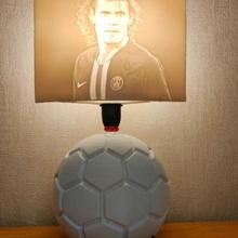 Lampe Fußball Edinson Cavani Fuß Fußball Licht om Lampe Ballon Cavani Edison