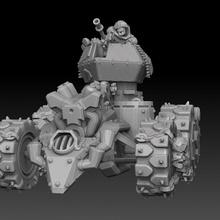 ork panzer buggy 40k armor orc ork tank warhammer steampunk ww2 ww1 apc panzer lemanruss goff gorkamorka wartrakk evilsunz badmoons landraider bigmek konflikt47