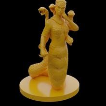 medusa oyuncaklar oyunlar iblis kadın Yunan mitoloji taş Kadın yılan kötü hançer canavarlık