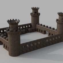 castillo llavero llavero medieval castillo pierre castillo