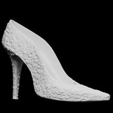 rose garden heel scan garden rose sculpture shoe contemporary photogrammetry heel