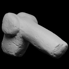 anatomic votivo ofertas Varredura 3d imprimível escultura religião Berlim Itália oferta anatômico fotogrametria pênis 3d printing Baco Dionísio falo votação openglam