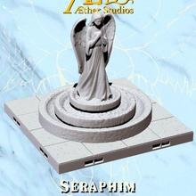 serafim estátuas loja Deus deusa grego romano escultura têmpora terreno mármore Igreja telha divindade estátuas catedral angélico anjos tileset mosteiro éter aetherstudios