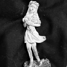 Blume Fee Figur Geschäft Fantasie weiblich Blumen Skulptur Fee Rosen Campbell cr83d sandig