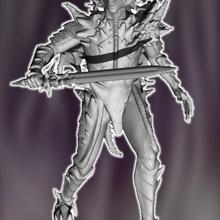 fallen dragon slayer armor creature dragon knight monster mutant slayer humanoid corrupt transformed draconic fallendragonslayer