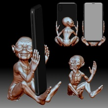 phone holder stand 3d printable model precious store 3d holder printable cell model phone smartphone stand