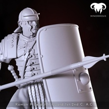 roman praetorian guard 1st-2nd c ac action toys & games figure gaming guard historical history human miniatures roman rpg wargames painting tabletop bases spqr 75mm praetorian minormous