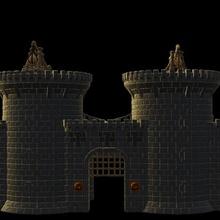 castillo portón