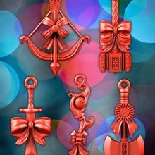 fantasía decoraciones jardín Navidad armadura hacha fantasía Caballero medieval rpg espada árbol guerrero arma Navidad mago martillo mago enano cetro mmorpg png rda
