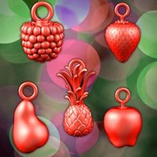 frutas decoratio Navidad manzana decoración fdm gracioso naturaleza frambuesa árbol vegetal Navidad pla decoración fresa navidad frutas jugo natale presupuesto