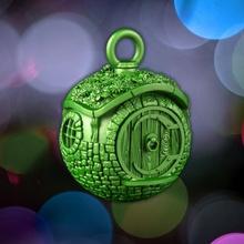 hobbit casa pelota Navidad pelota decoración duende fantasía casa orco árbol Navidad anillos frodo señor lotr enano gollum hobbit Bilbo bolsitas