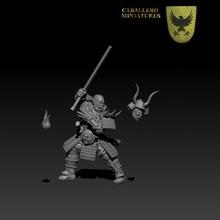 orc samurai tabletop orc rpg warhammer dungeonsanddragons tabletop samurai 28mm dnd mordheim kingsofwar ageofsigmar ninthage oathmark orcsamurai