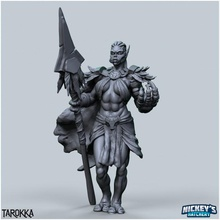 tarokka troll druid tabletop orc spear troll wizard staff mage warcraft wow druid shaman zandalari