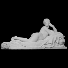reclining naiad scan 3d printing sculpture statue woman marble canova italy naiad nude photogrammetry neoclassical antonio-canova cc0 openglam carrara 3d-printable bligh possagno