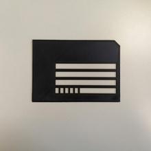 guide enveloppe 114x162 mm guía rail cit deficientes visuales cegado bassevision vida cotidiana mensajero