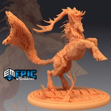 deer king mount mythical forest animal legendary stag animal deer fantasy forest king medieval monster mount mythical rpg warhammer wild stag enemy tabletop legendary dungeon dnd pathfinder feathered