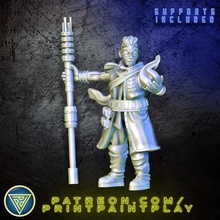 android technomancer toys & games android roleplay rpg magic male scifi mystic 32mm technomancer starfinder