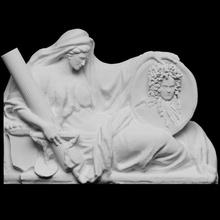 funerario Monumento Antonio aubray condado d 39 offemont escanear escultura mármol París lumbrera Francia 3dprintable