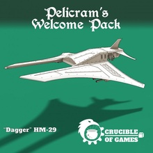 hm-29 'dagger' superiority fighter toys & games 40k aircraft fighter figurine hell sci-fi space vehicle warhammer blade imperial cyberpunk wargame marine chaos interceptor 28mm 40000 pre-supported heresy