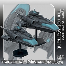 space shuttle alpha turret variant tactical miniatures toys & games miniatures sci-fi star terrain war dynasty scifi tabletop starship tactical 270 traveller danger starfinder 2nd traveler 2nddynasty