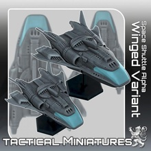 space shuttle alpha winged variant tactical miniatures toys & games miniatures sci-fi star terrain war scifi tabletop starship tactical 270 traveller danger starfinder 2nd traveler 2nddynasty dynsaty