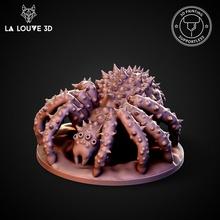 grande ragno giocattoli Giochi figurina orrore mostro rpg miniatura ragno tavolo dnd 32mm