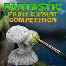fantástico impresión pintar competencia impresión competencia pintar plantas fantástico