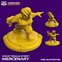 dwarf female street mercenary toys & games female dwarf cyberpunk squat mercenary shadowrun