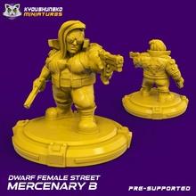 dwarf female street mercenary toys & games street dwarf cyberpunk squat shadowrun