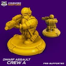 dwarf assault crew toys & games scifi dwarf cyberpunk squat swat