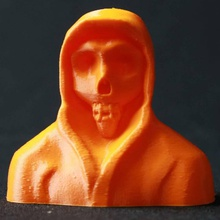 faucheuse sculpture fan art modèle crâne zbrush sculpter reaper grimmreaper