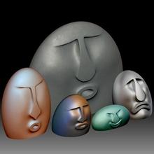 oof stones 3d printable model & garden 3d print printable model printing stones oof oof-stones