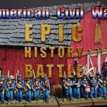 infanterie infantry - epic history battle american civil war - 15mm scale toys & games figurine soldier war miniature american infantry wargame 15mm eskice civil presupported acw soldat infanterie