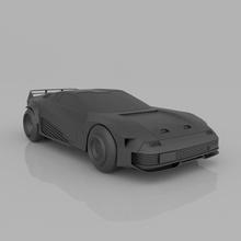 cyberpunk car quadra 3d model printing stl file spare parts car print stl body collection fdm sci-fi videogame miniature sla rc video game high quality quadra impression 3d sportcar cyberpunk 2077 quadra v-tech
