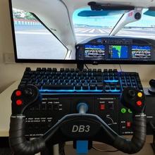 yoke gadgets & electronics diy fly fun game plane play printed joystick 2020 flight rudder yoke sim throttle simulator fsx fs