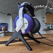 desktop headphone stand gadgets & electronics accessories accessory desk display elegant headphone headphones office stand homeware desktop headset airpods