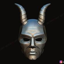 krampus devil mask - satan mask - demon mask halloween 3d print model devil face halloween head human mask cosplay devil-mask hannya-mask demon-mask halloween-cosplay samurai-mask satan-mask krampus-mask krampus-cosplay demon-cosplay krampus-devil-cosplay krampus-devil horn-mask satan-head