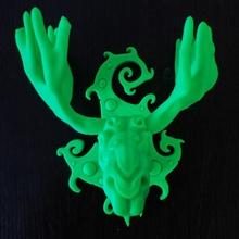 elk spirit forest jewellery printable animal art design fantasy fdm forest nature sculpture trophy zbrush 3dprint elk