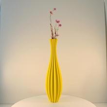 tall flower vase vase mode & garden  vase decor vases vase-mode flower-vase slimprint modern-vase vase-for-dried-flowers vase-for-dry-flowers elegant-vase tall-vase tall-flower-vase dried-flower-vase modern-decoration-vase minimalist-vase