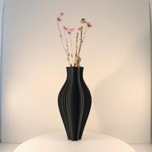 abstract vase model vase mode & garden decoration  vase abstract vases home-decor vase-mode flower-vase slimprint modern-vase abstract-vase vase-for-dried-flowers vase-for-dry-flowers dried-flower-vase shelf-decor diy-decor