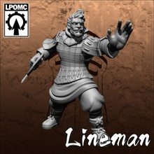 qin-terracotta tomb king-lineman 01 toys & games bowl fantasy football game king tomb undead blood tabletop lineman