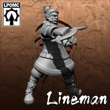 qin-terracotta tomb king-lineman 02 toys & games bowl fantasy football game king tomb undead blood tabletop lineman