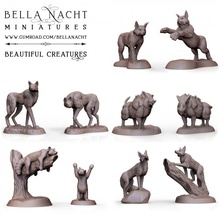 beautiful creature - set - 32 figures toys & games beast dragon hell hound panda tiger tooth sabre panther nightmare fairy warg couatl cloaker flumph displacer pseudodragon faerie worg faeriedragon